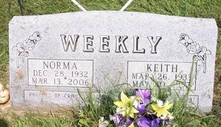 WEEKLY, KEITH - Iowa County, Iowa | KEITH WEEKLY