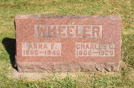 WHEELER, CHARLES C - Iowa County, Iowa | CHARLES C WHEELER