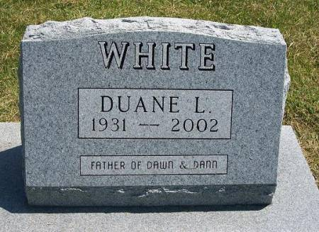 WHITE, DUANE L. - Iowa County, Iowa | DUANE L. WHITE
