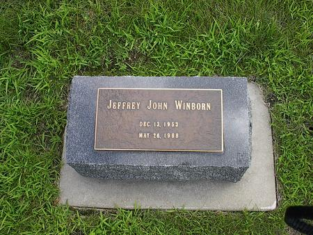 WINBORN, JEFFREY JOHN - Iowa County, Iowa | JEFFREY JOHN WINBORN