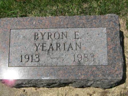YEARIAN, BYRON E - Iowa County, Iowa | BYRON E YEARIAN