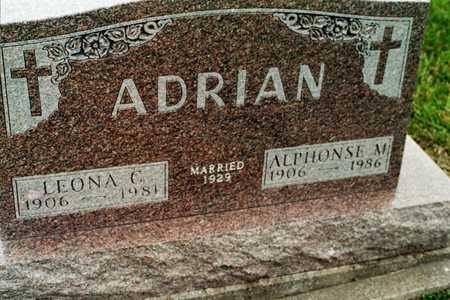 ADRIAN, LEONA C. - Jackson County, Iowa | LEONA C. ADRIAN