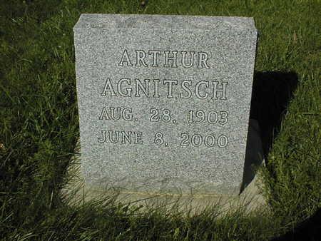 AGNITSCH, ARTHUR - Jackson County, Iowa | ARTHUR AGNITSCH