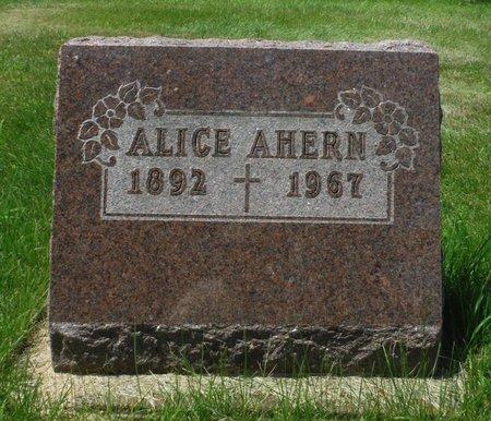 AHERN, ALICE - Jackson County, Iowa | ALICE AHERN