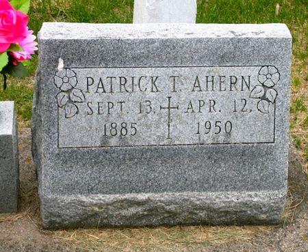 AHERN, PATRICK T. - Jackson County, Iowa | PATRICK T. AHERN