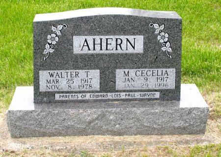 AHERN, MARY CECELIA - Jackson County, Iowa | MARY CECELIA AHERN