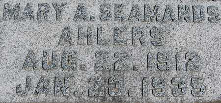 AHLERS, MARY A. - Jackson County, Iowa | MARY A. AHLERS
