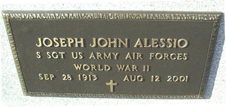 ALESSIO, JOSEPH JOHN - Jackson County, Iowa | JOSEPH JOHN ALESSIO