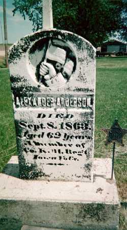 ANDERSON, ALEXANDER - Jackson County, Iowa | ALEXANDER ANDERSON
