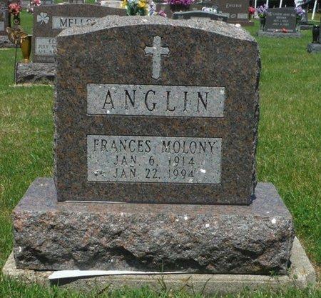 MOLONY ANGLIN, FRANCES - Jackson County, Iowa | FRANCES MOLONY ANGLIN