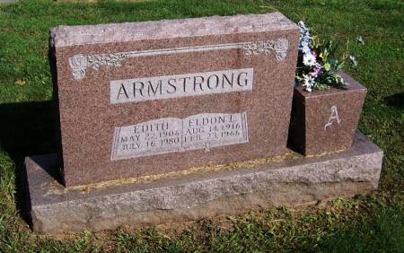 ARMSTRONG, EDITH - Jackson County, Iowa | EDITH ARMSTRONG