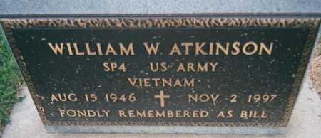 ATKINSON, WILLIAM W. - Jackson County, Iowa | WILLIAM W. ATKINSON