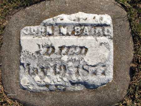 BAIRD, JOHN A. - Jackson County, Iowa | JOHN A. BAIRD