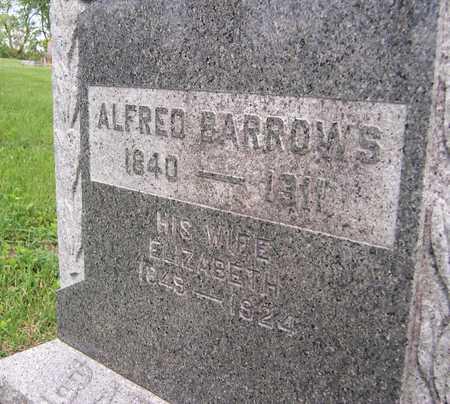 BARROWS, ELIZABETH - Jackson County, Iowa | ELIZABETH BARROWS