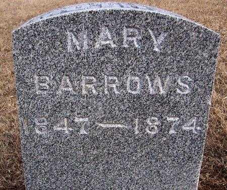 BARROWS, MARY - Jackson County, Iowa | MARY BARROWS