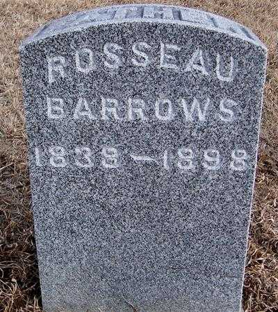 BARROWS, ROSSEAU - Jackson County, Iowa | ROSSEAU BARROWS