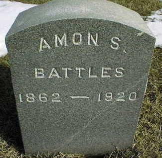 BATTLES, AMON S. - Jackson County, Iowa | AMON S. BATTLES