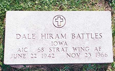 BATTLES, DALE HIRAM - Jackson County, Iowa | DALE HIRAM BATTLES