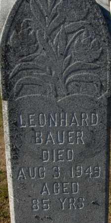 BAUER, LEONHARD - Jackson County, Iowa | LEONHARD BAUER