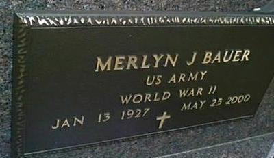 BAUER, MERLYN J. - Jackson County, Iowa | MERLYN J. BAUER