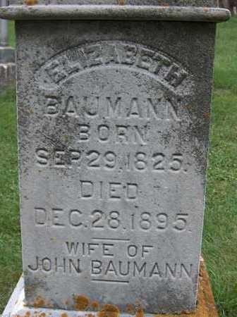 BAUMANN, ELIZABETH - Jackson County, Iowa | ELIZABETH BAUMANN