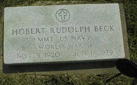 BECK, HOBERT RUDOLPH - Jackson County, Iowa | HOBERT RUDOLPH BECK