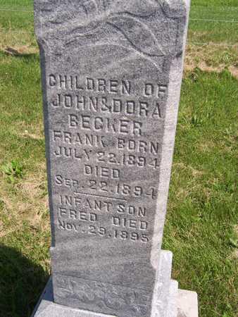 BECKER, FRANK - Jackson County, Iowa | FRANK BECKER