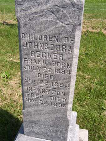 BECKER, FRED - Jackson County, Iowa   FRED BECKER