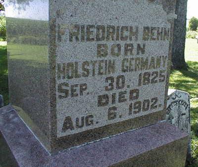 BEHN, FRIEDRICH - Jackson County, Iowa | FRIEDRICH BEHN