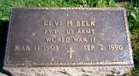 BELK, LEVI H. - Jackson County, Iowa | LEVI H. BELK
