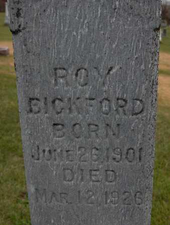 BICKFORD, ROY - Jackson County, Iowa   ROY BICKFORD