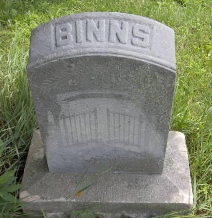 BINNS, FAMILY - Jackson County, Iowa | FAMILY BINNS