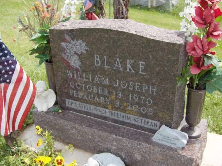 BLAKE, WILLIAM JOSEPH - Jackson County, Iowa | WILLIAM JOSEPH BLAKE