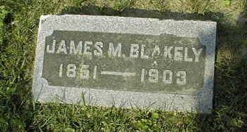 BLAKELY, JAMES M. - Jackson County, Iowa   JAMES M. BLAKELY