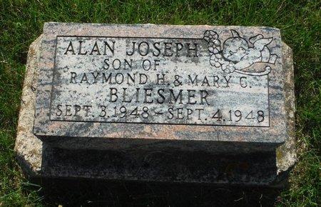 BLIESMER, ALAN JOSEPH - Jackson County, Iowa | ALAN JOSEPH BLIESMER