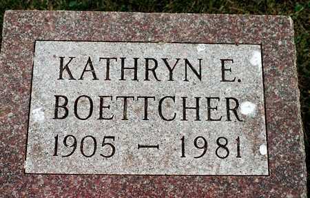 BOETTCHER, KATHYRN E. - Jackson County, Iowa   KATHYRN E. BOETTCHER