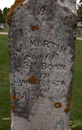 BONN, J. MARTIN - Jackson County, Iowa | J. MARTIN BONN