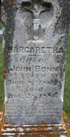 BONN, MARGARETHA - Jackson County, Iowa | MARGARETHA BONN