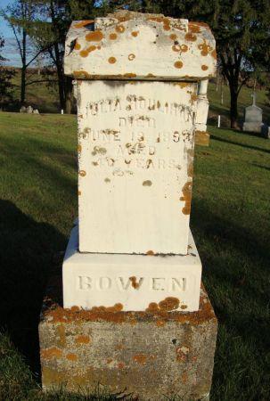 BOWEN, JULIA - Jackson County, Iowa | JULIA BOWEN