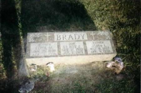 BRADY, JOHN - Jackson County, Iowa | JOHN BRADY