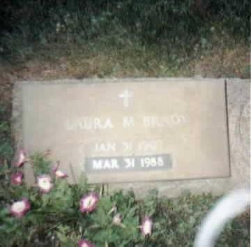 BRADY, LAURA - Jackson County, Iowa   LAURA BRADY