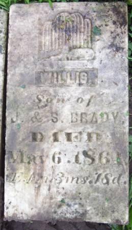 BRADY, WILLIS - Jackson County, Iowa | WILLIS BRADY