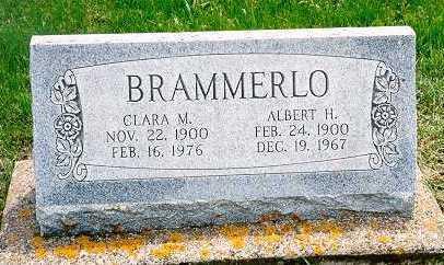 BRAMMERLO, CLARA M. - Jackson County, Iowa | CLARA M. BRAMMERLO