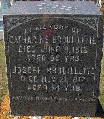 BROUILLETTE, JOSEPH - Jackson County, Iowa | JOSEPH BROUILLETTE