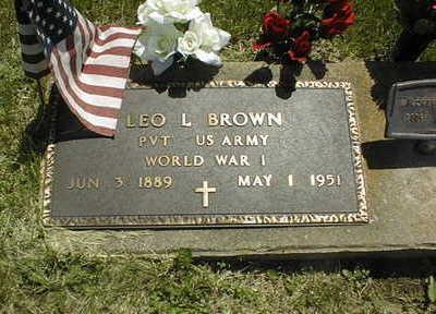 BROWN, LEO L. - Jackson County, Iowa | LEO L. BROWN
