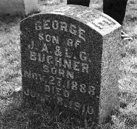 BUCHNER, GEORGE - Jackson County, Iowa | GEORGE BUCHNER