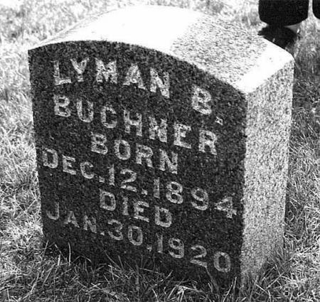 BUCHNER, LYMAN B. - Jackson County, Iowa | LYMAN B. BUCHNER