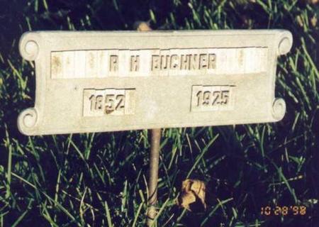 BUCHNER, ROBERT HARMON - Jackson County, Iowa | ROBERT HARMON BUCHNER