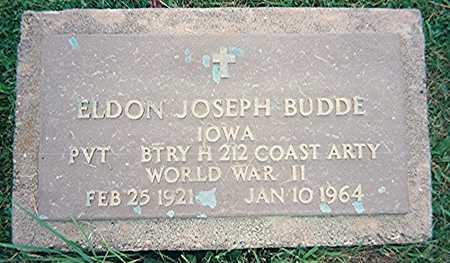 BUDDE, ELDON JOSEPH - Jackson County, Iowa   ELDON JOSEPH BUDDE