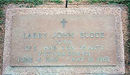 BUDDE, LARRY JOHN - Jackson County, Iowa | LARRY JOHN BUDDE